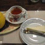 ブレリーズ - チーズケーキセット