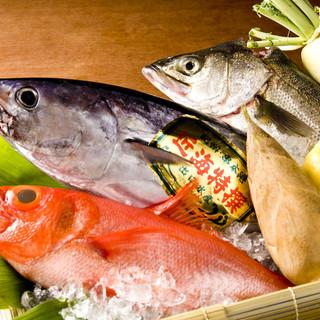 旬の魚には自信あり!
