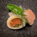 飛騨古川 料亭旅館 八ツ三館 - 酢の物