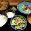 鯖とか烏賊とか真とか - 料理写真:「活き鯖定食」(1200円)。