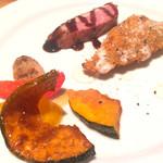 ベルソリーゾ - 前菜3種盛り