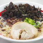 東京発祥豚骨ラーメン 哲麺縁 - 香りの良い磯のりいっぱい。塩味がオススメです。
