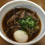 Izurashuuzenjisobadokoro - しいたけそば¥380  半熟卵¥110