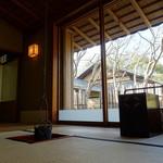 Sunainosato - お茶席 3月は釣り釜
