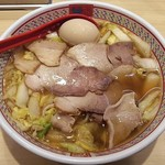 どうとんぼり神座 - 【小チャーシュー煮玉子ラーメン】¥880