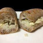 63786150 - 青カビチーズとセロリのサンド