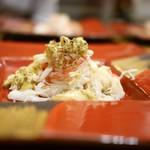 定谷 - 毛蟹ほぐし&蟹味噌