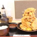 とんまさ - 若鶏かつ定食 1700円(税抜き)(2017.03)
