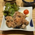 長崎茶寮 - 料理写真:若鶏の塩麹唐揚げ