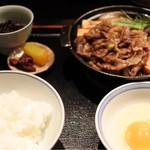 63789423 - 松阪牛すき焼き膳150g