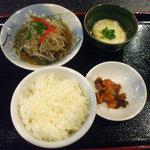 6379052 - 定食(¥750→¥680)のご飯とおかず