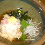 しん かるちぇ らたん - 蟹酢です。