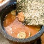 麺創宮本 - 特製つけ麺 つけ汁