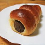 パンのトラ - 生チョココロネ