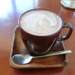 soin cafe - ドリンク写真:ほろにがココア