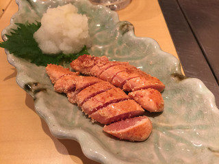 お好み焼 鉄板焼 つる次郎 - 炙り明太子 400円