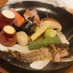 旬彩 天ぷら 心来(しんら) - 今日の食材
