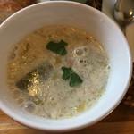 63793854 - 野菜の豆乳スープ