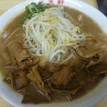 王王軒 - 支那そば肉入り 大 +煮たまご