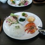 Cafe溜 - 料理写真:ワンプレートランチ、煮込みハンバーグ