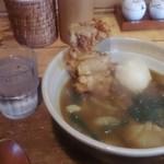 ろっか - 鶏玉天カレーうどん