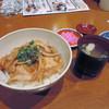 Jouzankeimanseikakuhoterumirionekitanokuni - 料理写真:もち豚丼セット