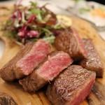 あじわい回転寿司 禅 - A4黒毛和牛のステーキ