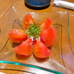 63801968 - 冷やしトマト!