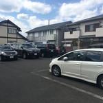 国分寺そば - 駐車場