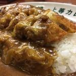 福島上等カレー - トンカツチーズカレー