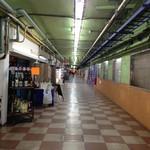 63807665 - (参考)伏見駅東口の地下街、左側にお店が並んでいます