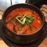 キムチのミズノ - 豆腐チゲ鍋
