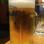 沼津魚がし鮨 - 生ビール