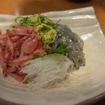 沼津魚がし鮨 - 生しらす生桜えび2点盛り