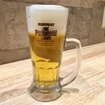 麺家獅子丸 - 生ビール 中