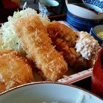 鐵馬厩 - シーフードフライ定食
