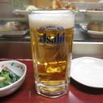 お多福 - 生ビール