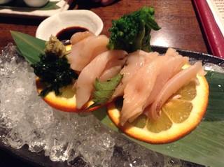 食菜居酒屋 かくれ家 - ミル貝の刺身