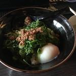 63815873 - 温玉汁無坦々麺(680円)