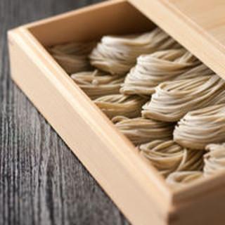 種まき~出荷まで一貫管理。石臼挽きそば粉を使う◆手打ち蕎麦◆