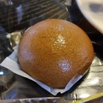 有喜堂 - 「珈琲 菓子付」のお菓子は「高尾まんじゅう」