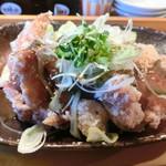 上田からあげセンター - 辛美味だれ唐揚げ定食