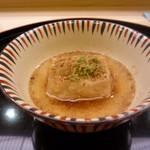 味 ふくしま - 胡麻豆腐の揚げ出し