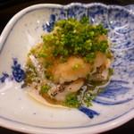 味 ふくしま - 焼き鰆の上にたっぷりの大根おろしと葱
