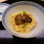 味 ふくしま - 穴子の蒸し寿司