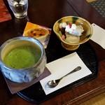 茶房 菊泉 - 「抹茶セットS (1030円)」
