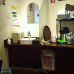 ケララの風II - 店内で手を洗ってから頂きましたがおしぼりもくれます
