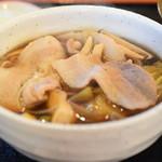 元祖 熊谷うどん 福福 - 肉きのこ汁
