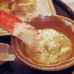 63821810 - 茹でたてのばん蟹と蟹味噌