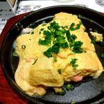63821831 - 明太チーズの出汁巻き卵